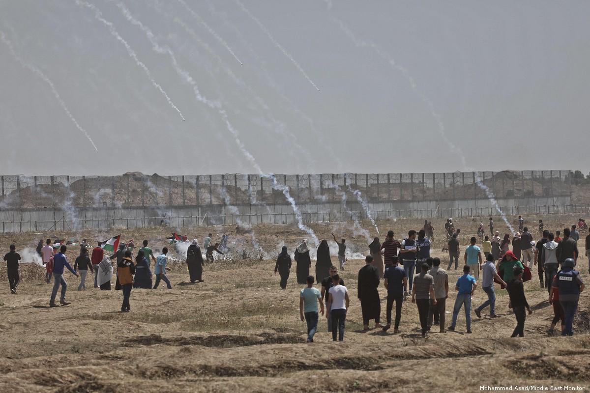 Cecchini israeliani si vantano di aver colpito decine di palestinesi alle ginocchia