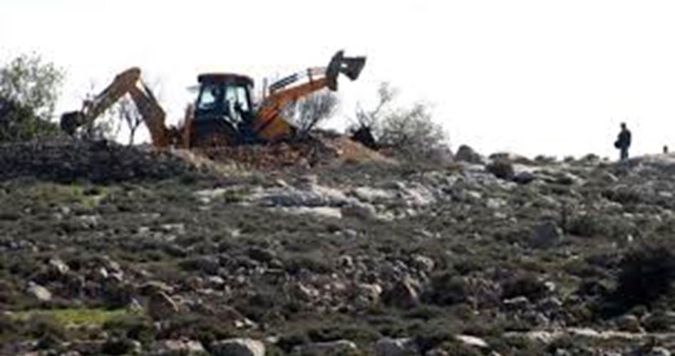 Coloni danneggiano terre di proprietà palestinese a Gerusalemme