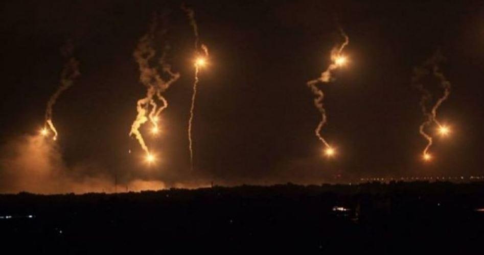 Israele ha bombardato aree della Striscia di Gaza orientale e centrale