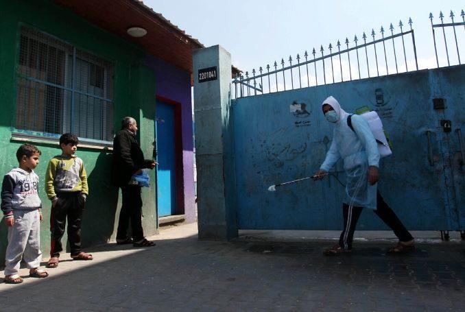 Foto: Gaza si prepara al Coronavirus con modesti mezzi