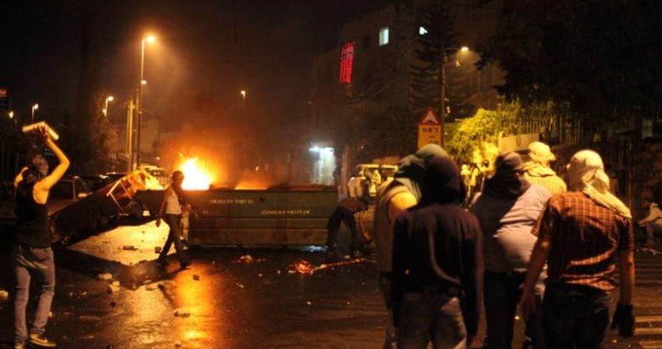 Aggressioni israeliane contro i residenti a al-Issawiya. Scontri
