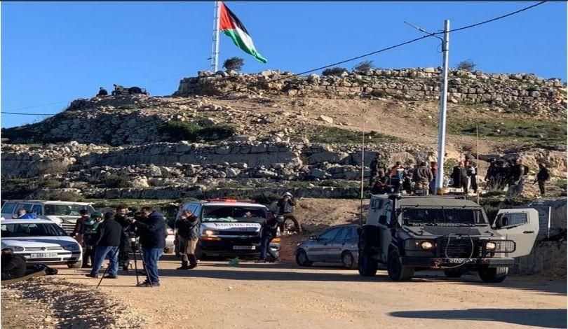 """63 Palestinesi tra feriti e asfissiati dalle forze di occupazione a """"Jabal al-Arma"""""""