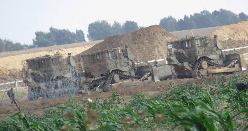 Incursione dell'esercito di occupazione nella Striscia di Gaza centrale