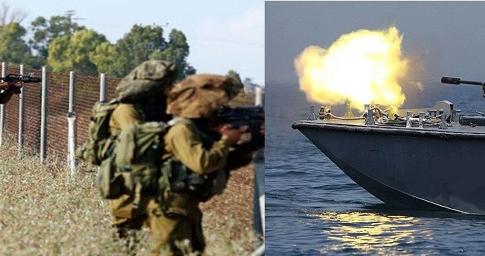 Le IOF attaccano agricoltori e pescatori della Striscia di Gaza