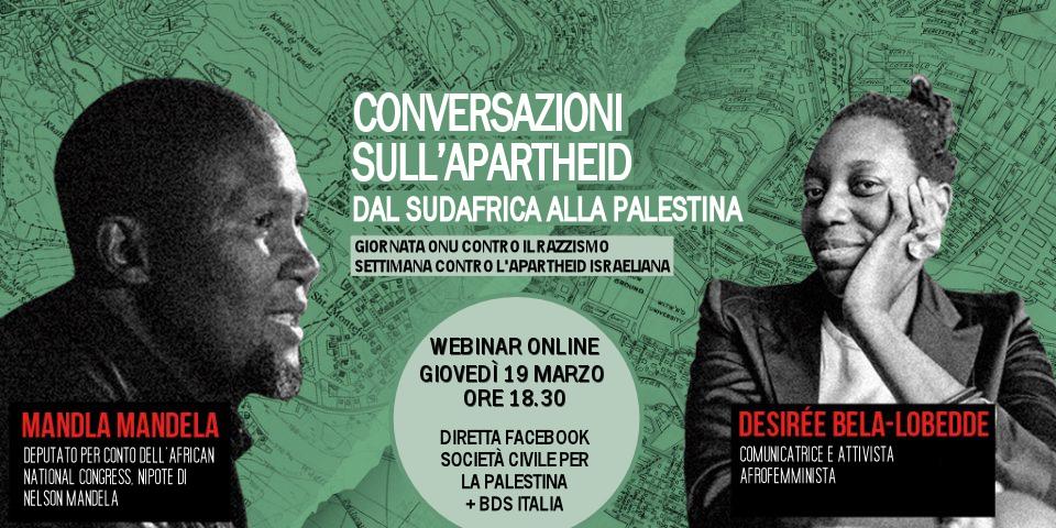 Conversazioni sull'apartheid – Webinar con Mandla Mandela