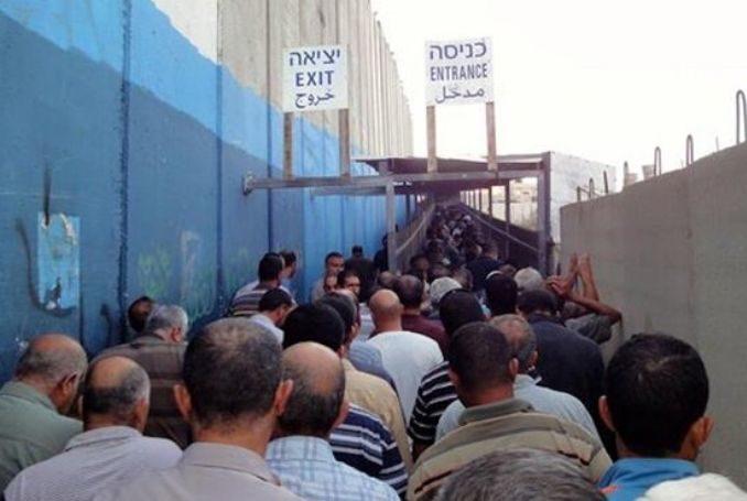 Israele apre le fogne per far passare i lavoratori palestinesi in Cisgiordania