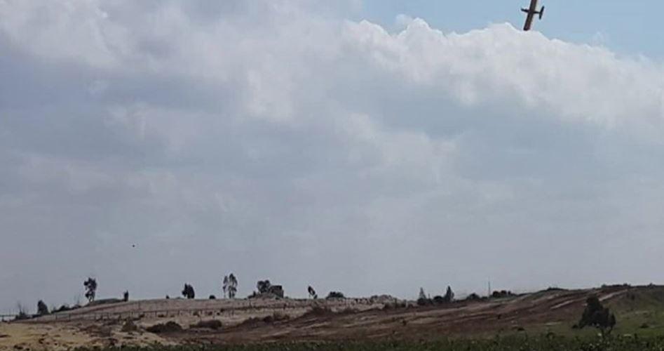 IOA usa prodotti chimici dannosi su terre coltivate a Gaza