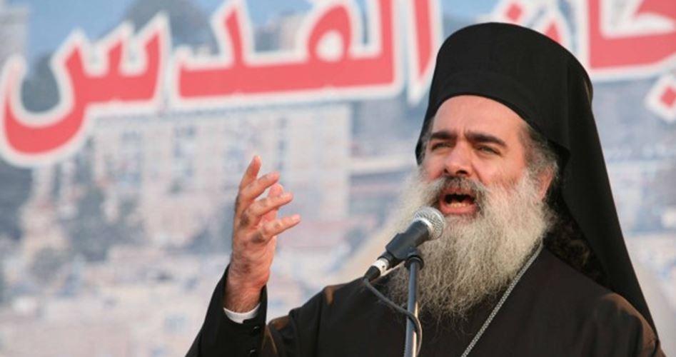 Padre Hanna richiama l'attenzione sulle pratiche coloniali israeliane