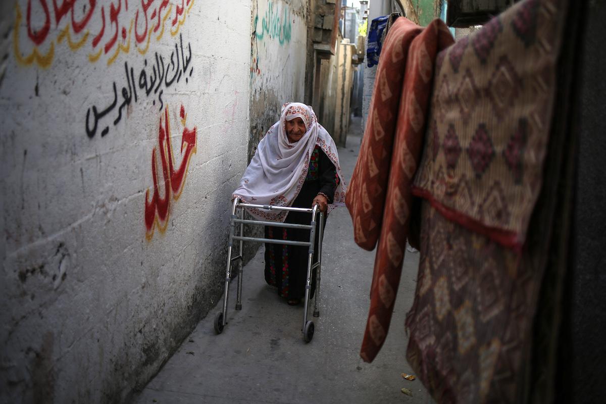 """Il significato per i Palestinesi di """"andare e restare a casa"""""""