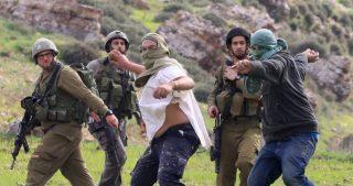 Agricoltori palestinesi feriti da orda di coloni a nord di Ramallah