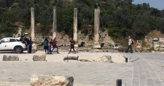 IOF chiudono antico sito della cittadina di Sebastia