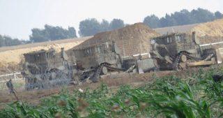 Esercito israeliano effettua incursione nella Striscia di Gaza