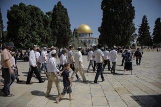 Decine di coloni israeliani invadono al-Aqsa per la sua riapertura