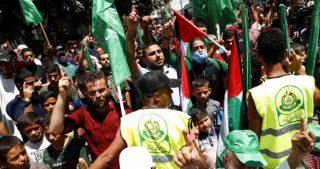 Manifestazioni a Gaza contro annessione israeliana