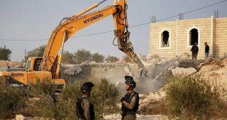 200 strutture palestinesi ricevono ordini di demolizione a Gerusalemme