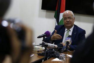 L'OLP chiede una coalizione globale per contrastare i piani di annessione di Israele