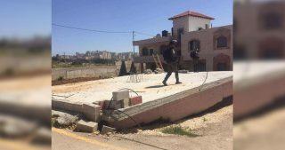 IOA ordinano stop alla costruzione di 15 strutture palestinesi a Salfit