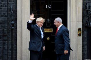 Gran Bretagna non appoggerà annessione israeliana, afferma Boris Johnson