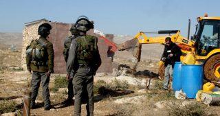 IOF distruggono strutture a al-Isawiya e coloni avvelenano pecore a Auja