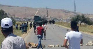 IOF demoliscono terreni palestinesi e provocano scontri violenti con residenti locali
