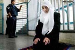 Due donne palestinesi in isolamento in una prigione israeliana
