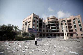 Ricordando l'offensiva israeliana del 2014 sulle università di Gaza
