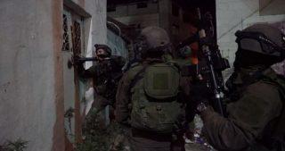 Un disabile tra i diversi cittadini palestinesi rapiti dalle IOF