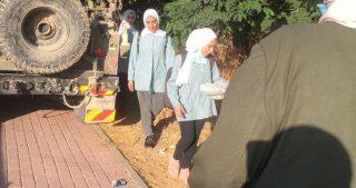Soldati molestano studentesse a sud di Nablus