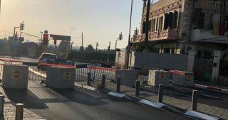 Chiusure e blocchi stradali in varie aree gerosolimitane a seguito delle festività ebraiche