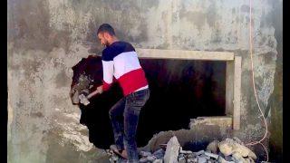 Due fratelli gerosolimitani costretti a demolire le loro case