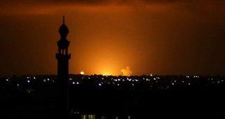 Bombardamenti israeliani contro la Striscia di Gaza