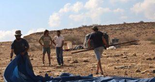 Coloni piazzano avamposto sul monte Sebaih