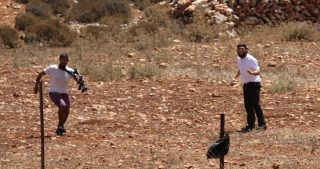 3 palestinesi feriti in attacco di coloni a sud di Nablus