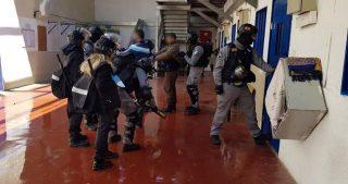 Guardie israeliane invadono celle nel carcere di Rimon