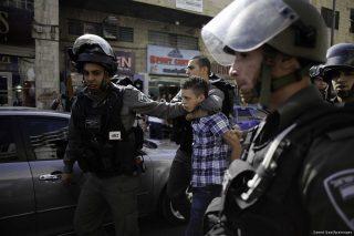400 minorenni palestinesi arrestati da Israele dall'inizio dell'anno