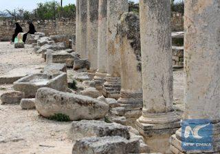Coloni invadono il sito archeologico di Sebastia