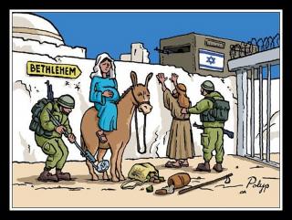 Natale in Palestina, tra i diritti negati