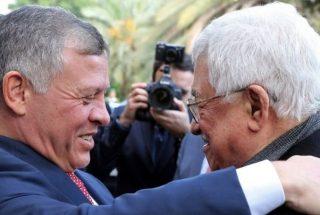 Re della Giordania incontra presidente dell'ANP per cercare di riprendere trattative di pace israelo-palestinesi