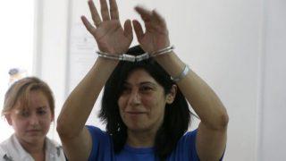 Khalida Jarrar riesce a far uscire una lettera per Palestine Writes