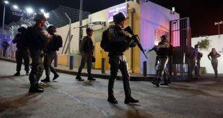 Palestinese ferito da proiettili israeliani nella Città vecchia di Hebron