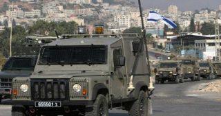 Bambino palestinese investito da jeep militare israeliana