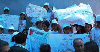 IOF si preparano per demolire scuola a Wadi al-Maleh