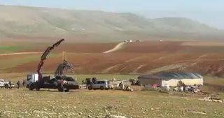 IOF demoliscono tende e sfollano famiglie nella Valle del Giordano