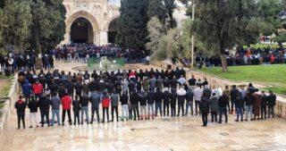 Restrizioni israeliane all'ingresso a al-Aqsa