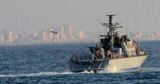 Marina israeliana attacca peschereccio a Gaza