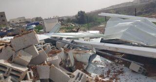 Israele rade al suolo due case in costruzione nella città araba di Qalansuwa