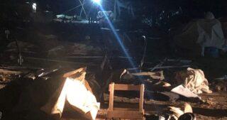 Le IOA distruggono tenda che dava riparo alla famiglia Elyan dopo la distruzione dell'abitazione