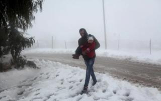 Israele distrugge villaggi palestinesi, lasciando i residenti senza un tetto durante tempeste di neve