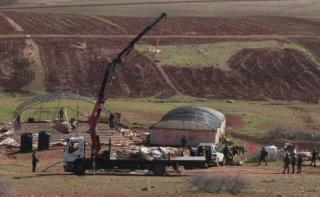 ONU: Demolizioni israeliane di case palestinesi a Humsa aumentano il rischio di uno sfollamento forzato