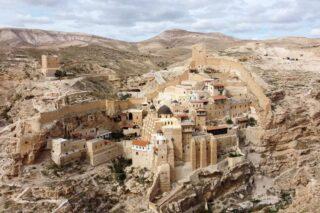 Scoprire il monastero di San Saba, in Palestina
